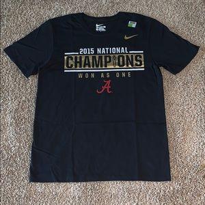 NWT Nike Alabama University FootballChampion Shirt